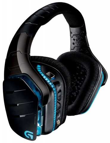 Logitech G933 Artemis Spectrum Wireless RGB Gaming Headset with 7.1 Surround Sound