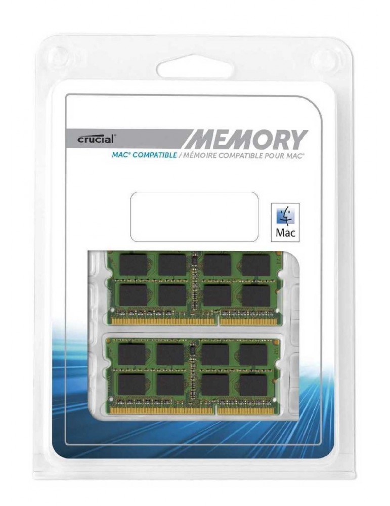 Crucial 16GB Kit (8GBx2) DDR3 1600 MHz Ram