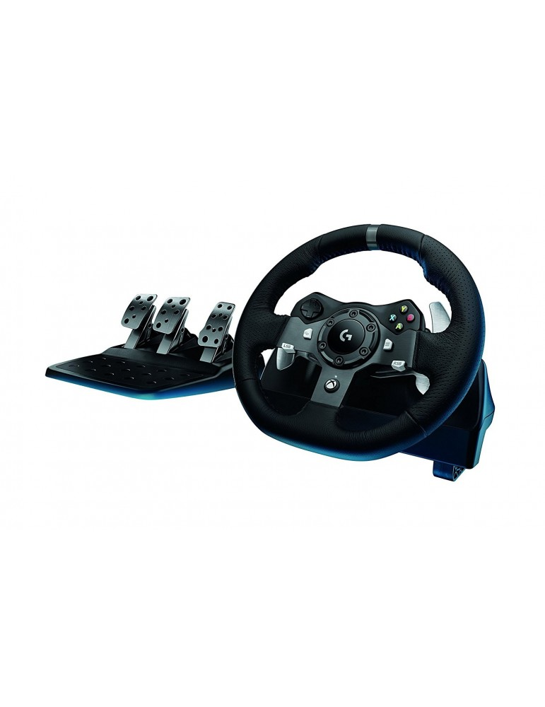Logitech G920 Dual-Motor Driving Force Racing Wheel with Responsive Pedals [PC/Xbox One]