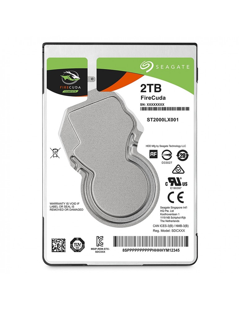 Seagate Firecuda Gaming 1TB 2.5-Inch SATA 6GB/s 5400rpm 128 MB Cache Internal Hard Drive