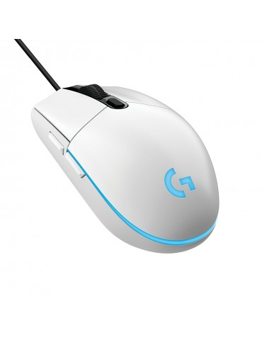 G203 Prodigy RGB Wired Gaming Mouse [WHITE]
