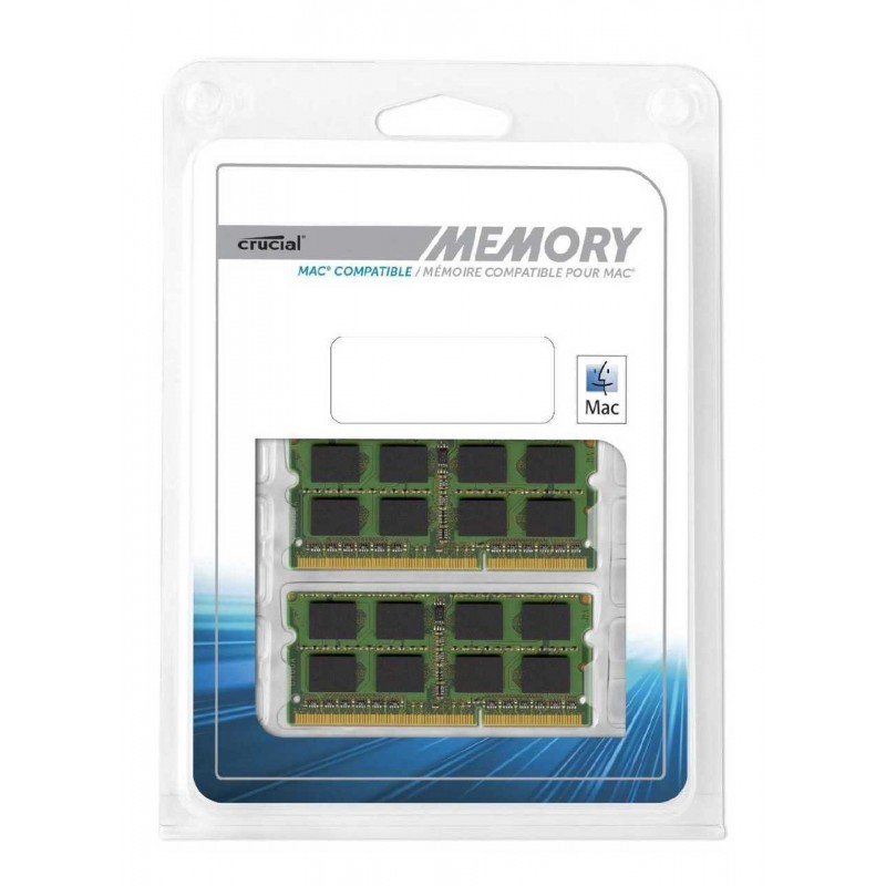 Crucial 16GB Kit (16GBx1) DDR4 2666 SODIMM Laptop Memory