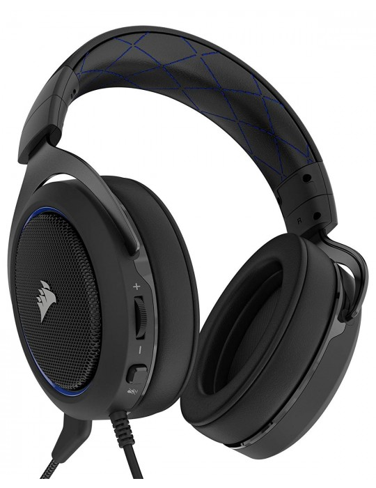 Corsair HS50 Stereo Gaming Headset [BLUE]
