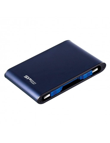 Silicon Power Armor A80 1TB Rugged Waterproof Portable External Hard Drive [Blue]