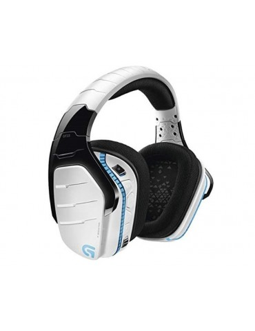 Logitech G933 Artemis Spectrum Wireless RGB Gaming Headset with 7.1 Surround Sound [SNOW]