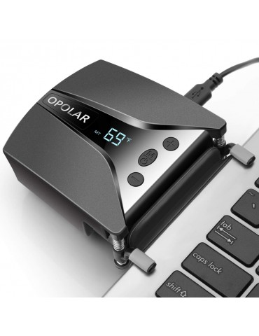 OPOLAR Laptop Fan Cooler with Temperature Display