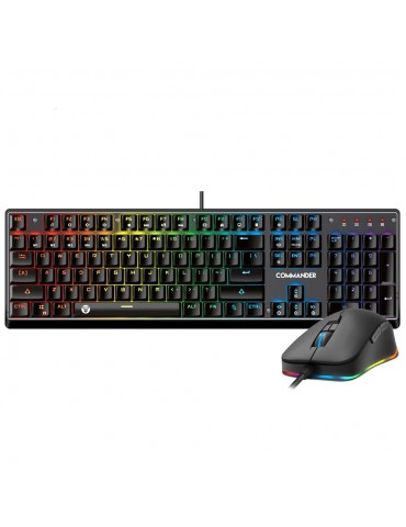 FANTECH MVP 862 KEYBOARD RGB Gaming Keyboard & Mouse