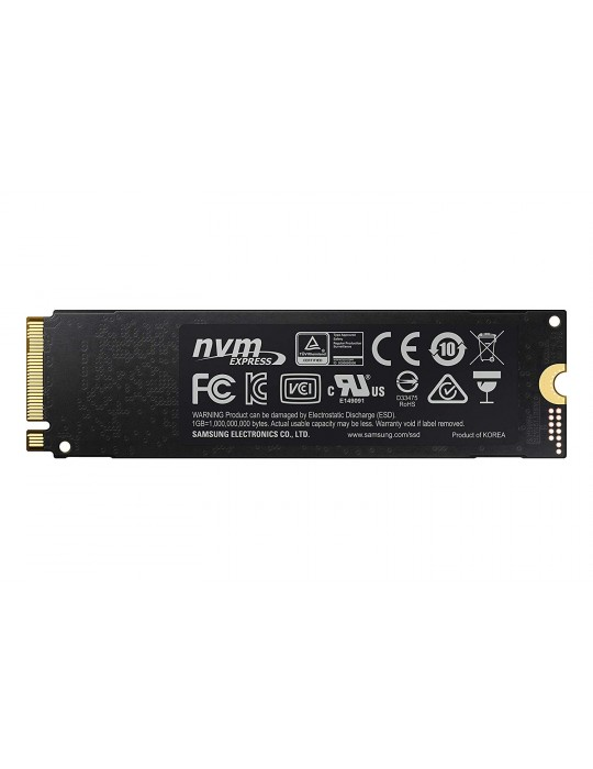 Samsung 970 EVO PLUS 500GB PCIe NVMe M.2 Internal SSD