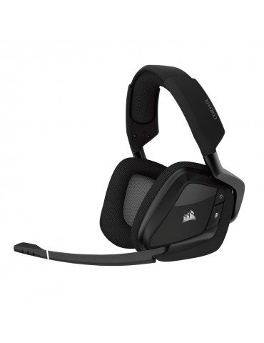 Corsair Void PRO RGB Wireless Dolby 7.1 Surround Sound Gaming Headset [BLACK]