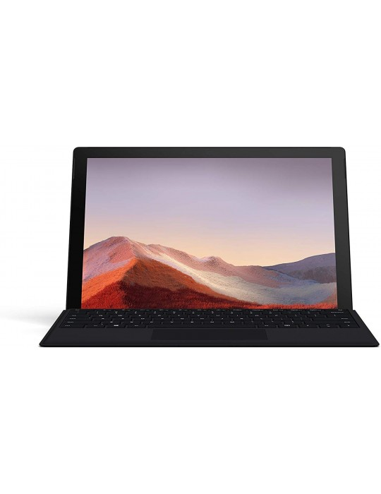 "NEW 12.3"" Microsoft Surface Pro 7 [Intel Core i5-1035G4][8GB LPPDR4x][256GB SSD][Platinum][Black Type Cover Bundle]"