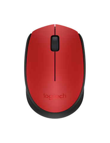 Logitech M171 Wireless Optical Mouse [RED]