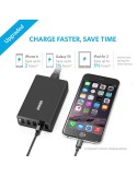 Anker 40W 5-Port High Speed Desktop USB Charger with PowerIQ [Black]