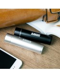 Anker 2nd Gen Astro Mini 3200mAh Lipstick-Sized Portable External Battery Charger with PowerIQ [Black]