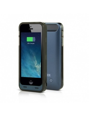 Anker 2400mAh Extended Battery Case for iPhone 5s, 5 [Mid-Night Blue][Apple MFI Certified]