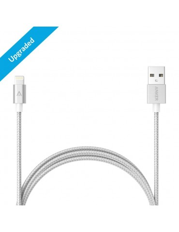 Anker PowerLine Lightning (3ft) Apple MFi Certified (White)