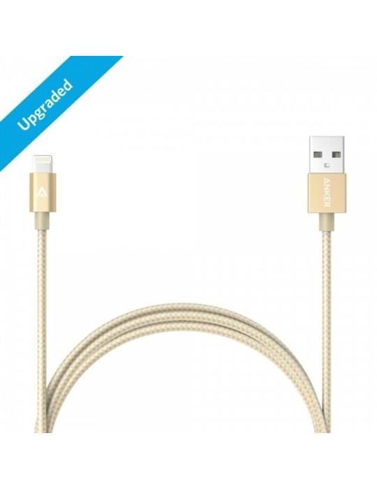 Anker PowerLine Lightning (3ft) Apple MFi Certified (White)
