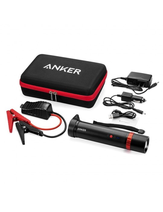 Anker Jump Starter 400 Multi-Functional Flashlight-Sized JumpStarter